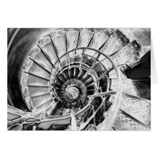 Winding Stairway Card