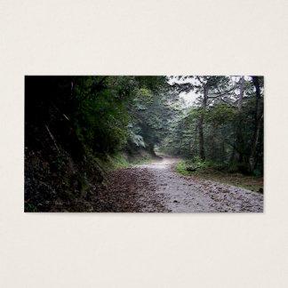 Winding Through Life/Inspirational Landscape Business Card