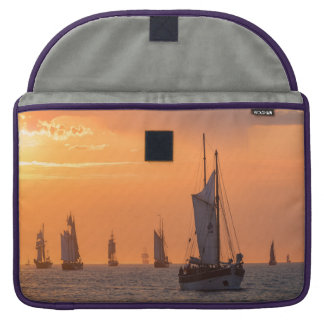 Windjammer in sunset light sleeve for MacBook pro