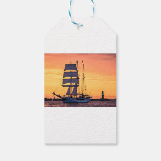 Windjammer on the Baltic Sea Gift Tags