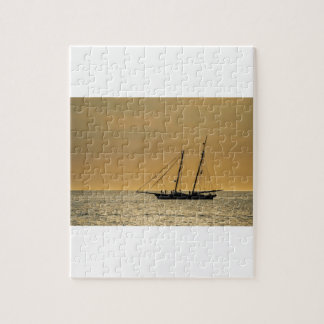 Windjammer on the Baltic Sea Jigsaw Puzzle