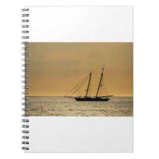 Windjammer on the Baltic Sea Notebook