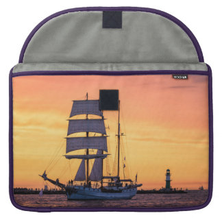 Windjammer on the Baltic Sea Sleeve For MacBook Pro