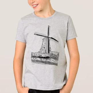Windmill and Boat Kids T-Shirt