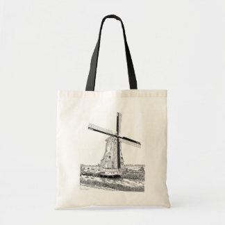 Windmill and Boat Tote Bag