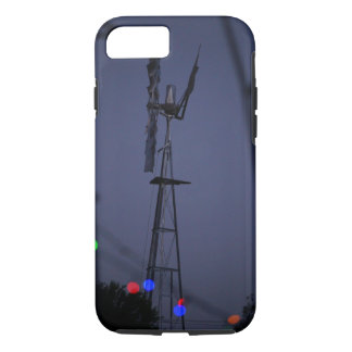 windmill and christmas lights Australia iPhone 7 Case
