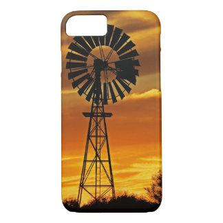 Windmill and Sunset, William Creek, Oodnadatta iPhone 7 Case