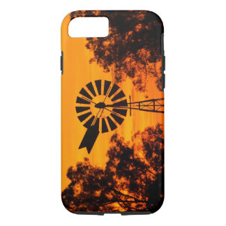 Windmill at Sunset, Australia iPhone 7 Case