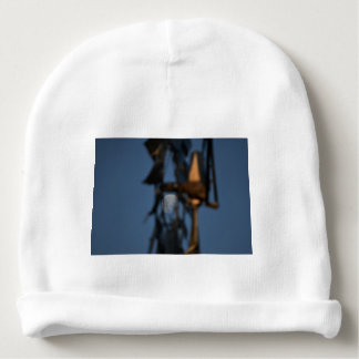 WINDMILL BLADES AND MOON AUSTRALIA BABY BEANIE