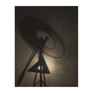 WINDMILL BLADES SPINNING MOON GLOW AUSTRALIA WOOD CANVASES