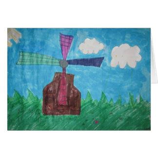 Windmill Card