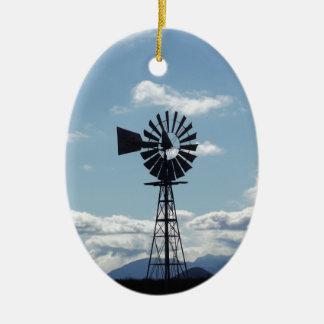 Windmill Ceramic Ornament