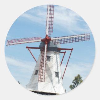 Windmill Chocolate Shop Sticker