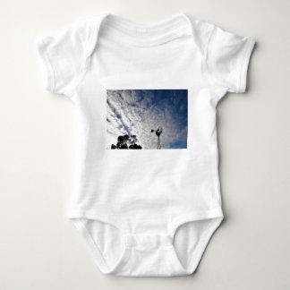 WINDMILL & CLOUDY  SKY QUEENSLAND AUSTRALIA BABY BODYSUIT