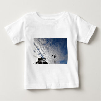 WINDMILL & CLOUDY  SKY QUEENSLAND AUSTRALIA BABY T-Shirt