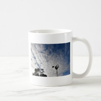 WINDMILL & CLOUDY  SKY QUEENSLAND AUSTRALIA COFFEE MUG