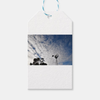 WINDMILL & CLOUDY  SKY QUEENSLAND AUSTRALIA GIFT TAGS