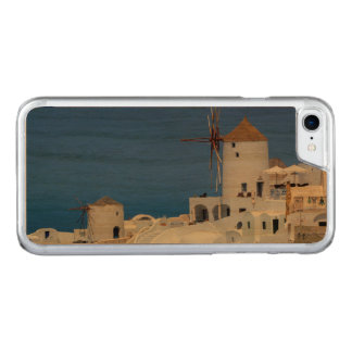 Windmill in Oia, Santorini, Greece Carved iPhone 7 Case