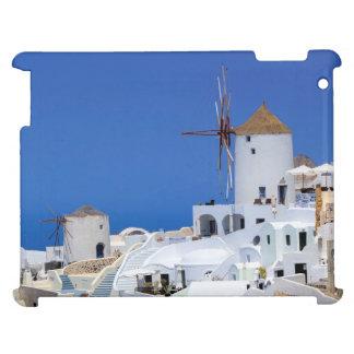 Windmill in Oia, Santorini, Greece Cover For The iPad 2 3 4