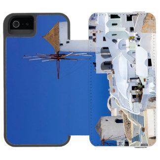Windmill in Oia, Santorini, Greece Incipio Watson™ iPhone 5 Wallet Case