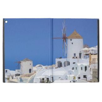 "Windmill in Oia, Santorini, Greece iPad Pro 12.9"" Case"