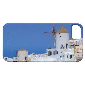 Windmill in Oia, Santorini, Greece iPhone 5 Covers