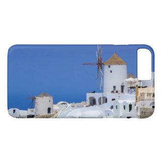 Windmill in Oia, Santorini, Greece iPhone 7 Plus Case