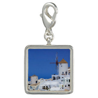 Windmill in Oia, Santorini, Greece Photo Charms
