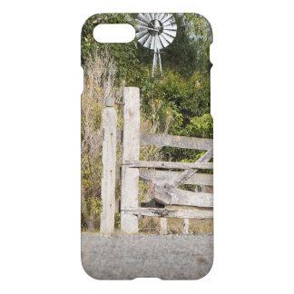 windmill in rural australia iPhone 7 case