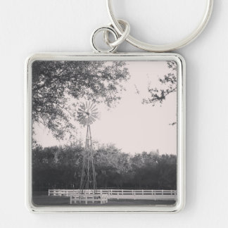 Windmill in the Country Keychain
