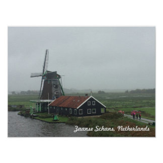 Windmill in the Netherlands Poster