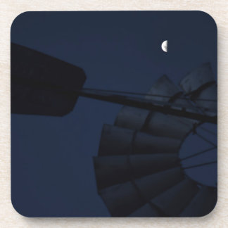 WINDMILL & MOON QUEENSLAND AUSTRALIA COASTER