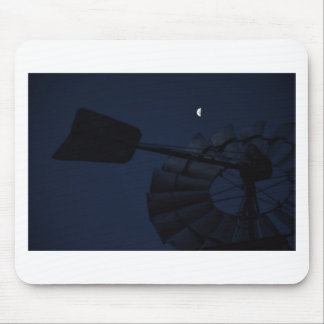 WINDMILL & MOON QUEENSLAND AUSTRALIA MOUSE PAD