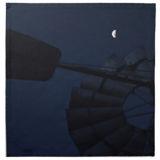 WINDMILL & MOON QUEENSLAND AUSTRALIA NAPKIN