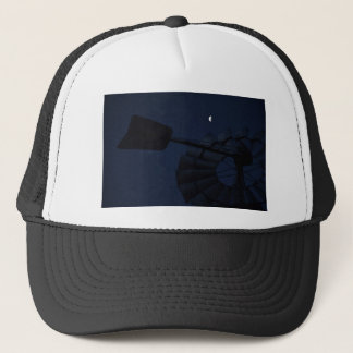 WINDMILL & MOON QUEENSLAND AUSTRALIA TRUCKER HAT