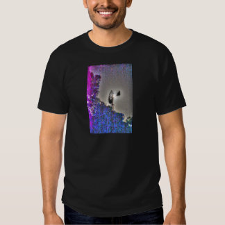 WINDMILL & MOON RURAL AUSTRALIA WITH ART EFFECTS SHIRT