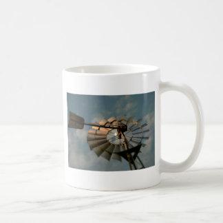 WINDMILL & MOON RURAL QUEENSLAND AUSTRALIA COFFEE MUG
