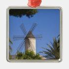 Windmill, Palma, Mallorca, Spain Metal Ornament
