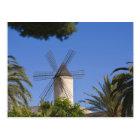 Windmill, Palma, Mallorca, Spain Postcard