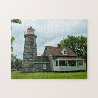 Windmill Point Lighthouse, Vermont Jigsaw Puzzle