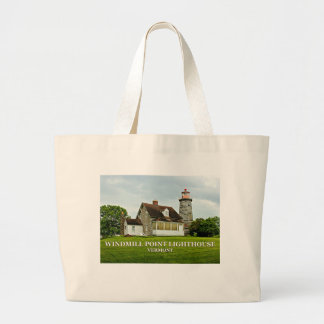 Windmill Point Lighthouse, Vermont Tote Bag