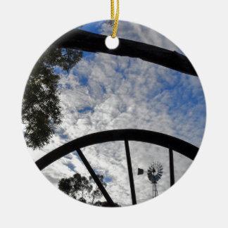 WINDMILL QUEENSLAND AUSTRALIA CERAMIC ORNAMENT