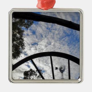 WINDMILL QUEENSLAND AUSTRALIA METAL ORNAMENT