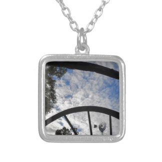 WINDMILL QUEENSLAND AUSTRALIA SILVER PLATED NECKLACE
