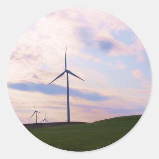 Windmill! Round Sticker