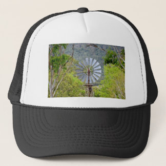 WINDMILL RURAL QUEENSLAND AUSTRALIA TRUCKER HAT