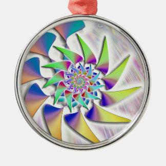 Windmill - spiral metal ornament
