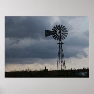 Windmill storm poster