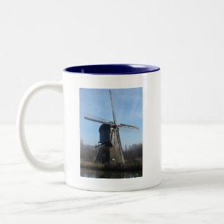 Windmill Two-Tone Coffee Mug