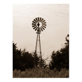 Windmill, Viersen Ranch Postcard